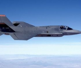 F-35 fighter Stock Photo 01