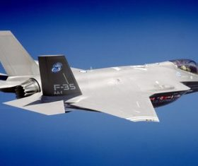 F-35 fighter Stock Photo 02