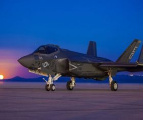 F-35 fighter Stock Photo 04
