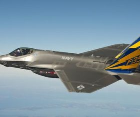 F-35 fighter Stock Photo 05