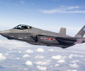 F-35 fighter Stock Photo 07