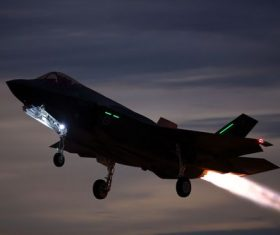 F-35 fighter Stock Photo 08