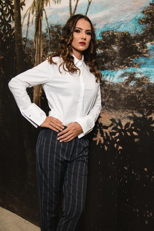 Female clothing model Stock Photo 02