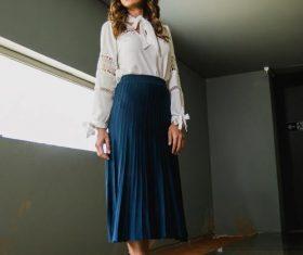 Female clothing model Stock Photo 03