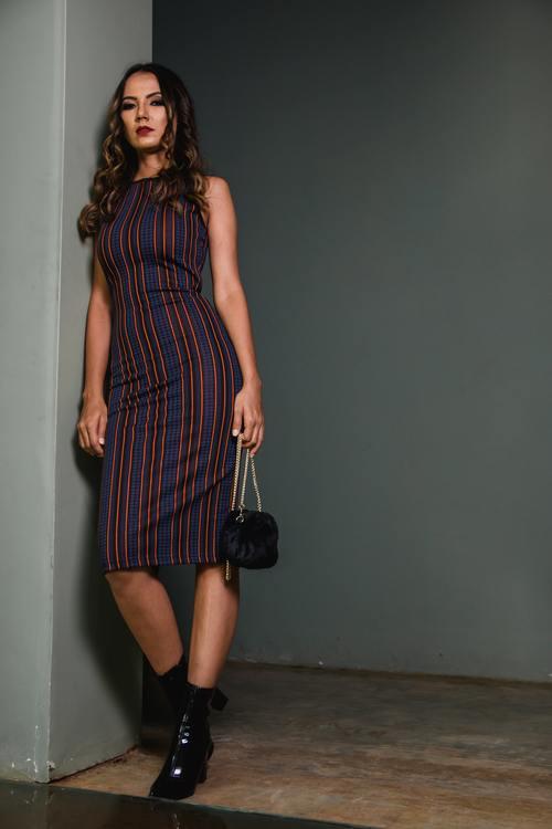 Female clothing model Stock Photo 04
