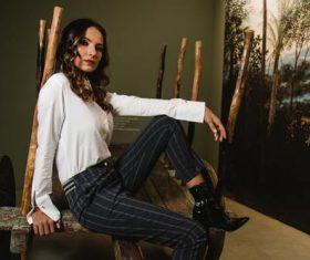 Female clothing model Stock Photo 05