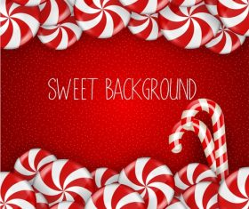 Fresh sweet background vector material 03