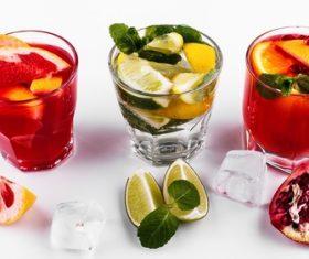 Fruit Wine Beverages Stock Photo