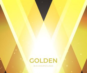 Golden shiny background art vector