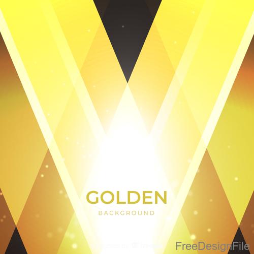 Golden shiny background art vector