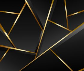 Golden with black background art vectors