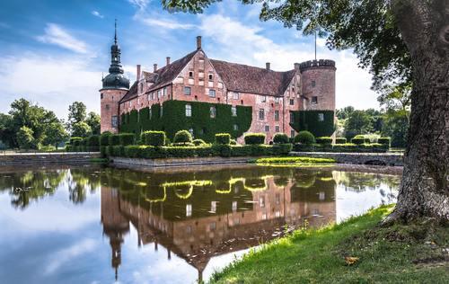 Gorgeous castle Stock Photo 04