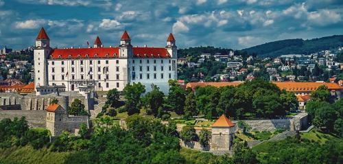 Gorgeous castle Stock Photo 05