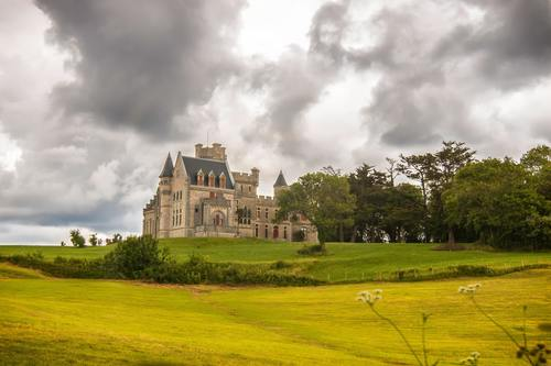 Gorgeous castle Stock Photo 07