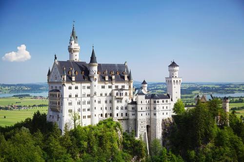 Gorgeous castle Stock Photo 08