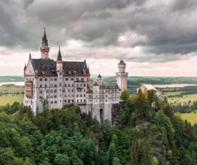 Gorgeous castle Stock Photo 10