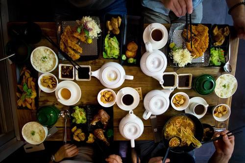 Hearty food Stock Photo 01