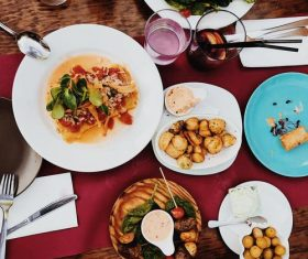 Hearty food Stock Photo 02