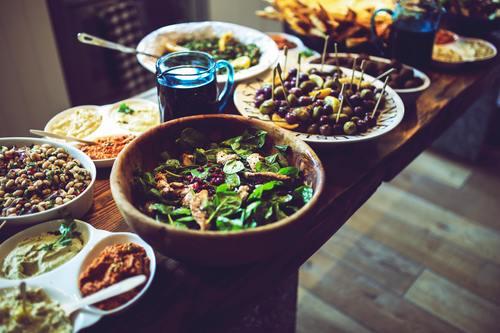 Hearty food Stock Photo 03
