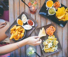 Hearty food Stock Photo 05