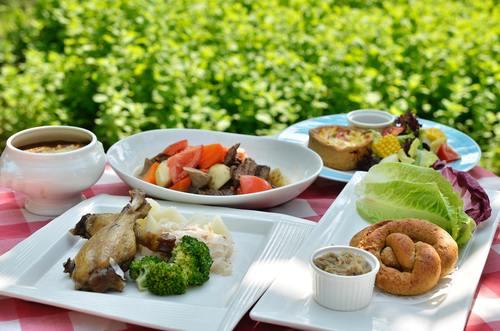 Hearty food Stock Photo 07