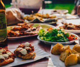 Hearty food Stock Photo 09