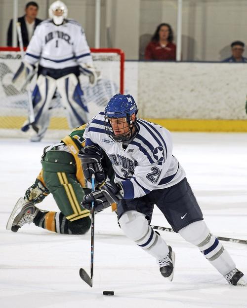 Intense ice hockey match Stock Photo 05