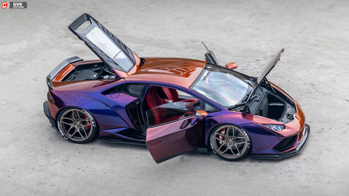 Lamborghini sports car Stock Photo 03