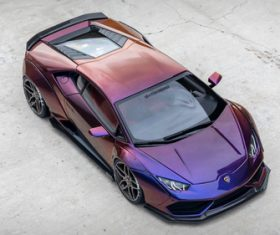 Lamborghini sports car Stock Photo 04