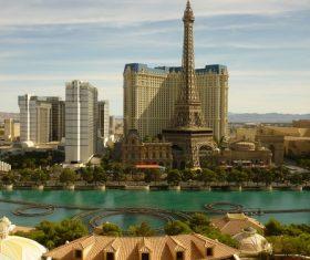 Las Vegas Cityscape Stock Photo 03