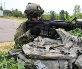 Military exercises Stock Photo 02