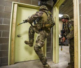 Military exercises Stock Photo 05