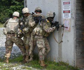 Military exercises Stock Photo 06