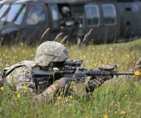 Military exercises Stock Photo 07