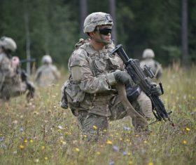 Military exercises Stock Photo 09