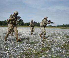 Military exercises Stock Photo 10
