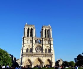 Notre Dame Cathedral France Stock Photo 01