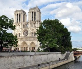 Notre Dame Cathedral France Stock Photo 02