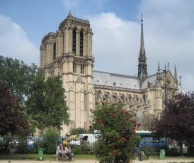 Notre Dame Cathedral France Stock Photo 03