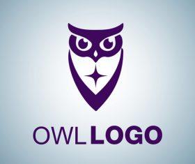 Owl logo design vectors set 05