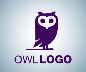 Owl logo design vectors set 07
