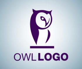 Owl logo design vectors set 08
