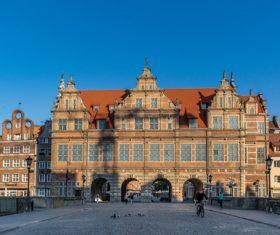 Polish city Gdansk city scenery Stock Photo 08