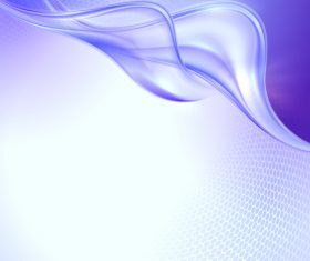 Purple transparent wave abstract vector 07