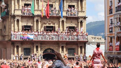 Spanish San Fermin Festival Stock Photo 02