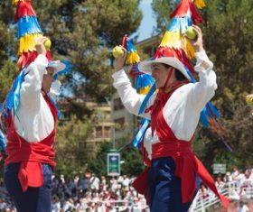 Spanish San Fermin Festival Stock Photo 04