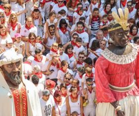 Spanish San Fermin Festival Stock Photo 05