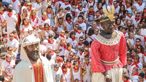 Spanish San Fermin Festival Stock Photo 05