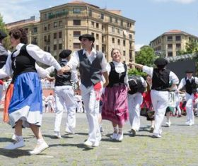 Spanish San Fermin Festival Stock Photo 06