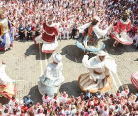Spanish San Fermin Festival Stock Photo 08
